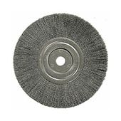 """4"""" Plater's Crimped Wire Wheel - Stainless Steel"""